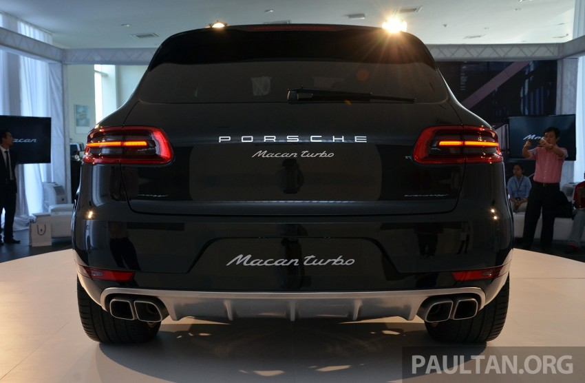 Porsche Macan previewed in Malaysia – four variants including 4-cylinder turbo, launching in Q4 2014 Image #246417