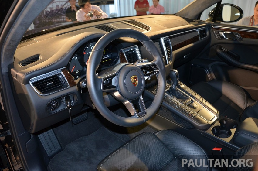 Porsche Macan previewed in Malaysia – four variants including 4-cylinder turbo, launching in Q4 2014 Image #246418
