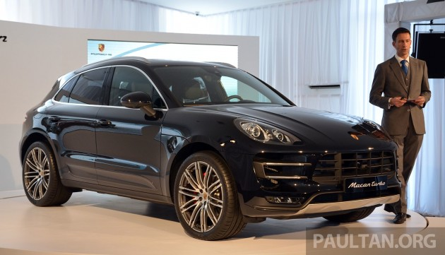 Ariffbaki New Post Porsche Macan Previewed In Malaysia Four Variants Including 4 Cylinder Turbo Launching In Q4 2014