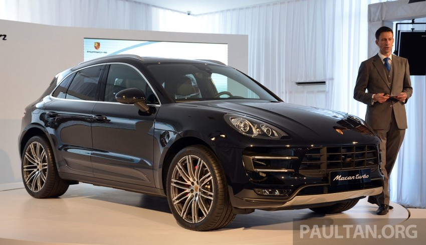 Porsche Macan previewed in Malaysia – four variants including 4-cylinder turbo, launching in Q4 2014 Image #246402