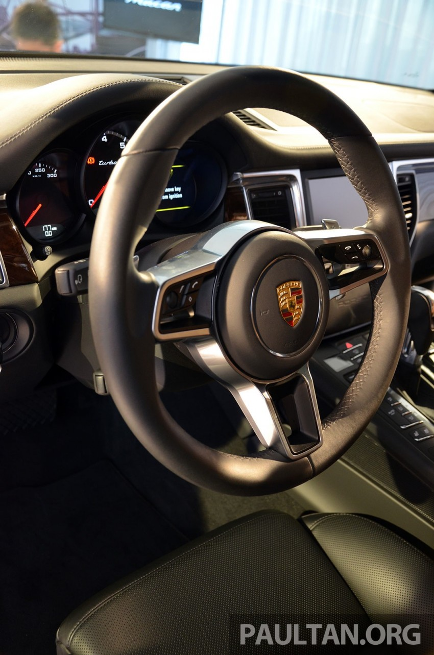 Porsche Macan previewed in Malaysia – four variants including 4-cylinder turbo, launching in Q4 2014 Image #246426