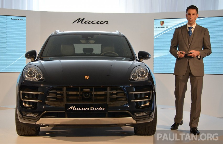 Porsche Macan previewed in Malaysia – four variants including 4-cylinder turbo, launching in Q4 2014 Image #246403