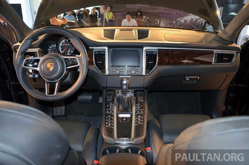 Porsche Macan previewed in Malaysia – four variants including 4-cylinder turbo, launching in Q4 2014 Image #246436