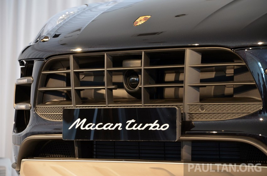 Porsche Macan previewed in Malaysia – four variants including 4-cylinder turbo, launching in Q4 2014 Image #246405