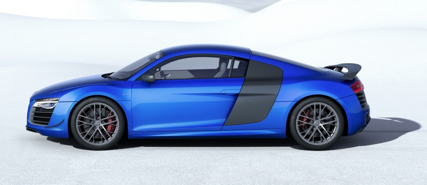 Audi R8 LMX: 570 PS beast to be first with laser lights Image #246863