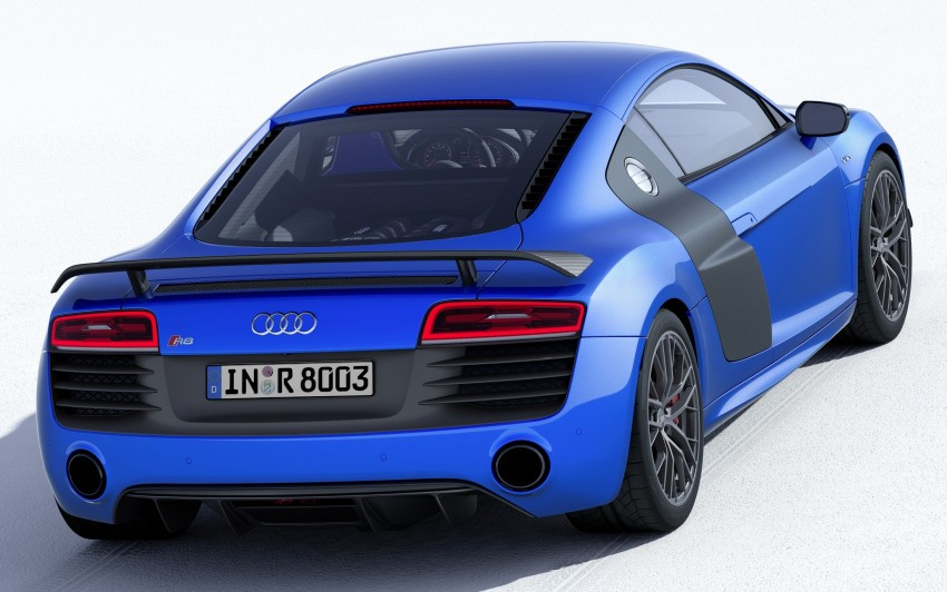 Audi R8 LMX: 570 PS beast to be first with laser lights Image #246862