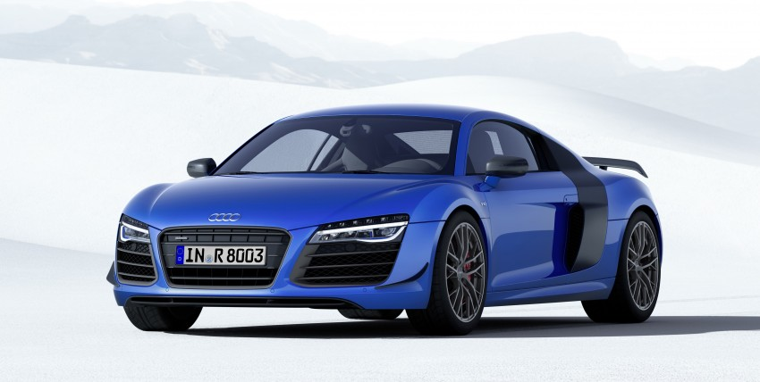 Audi R8 LMX: 570 PS beast to be first with laser lights Image #246865
