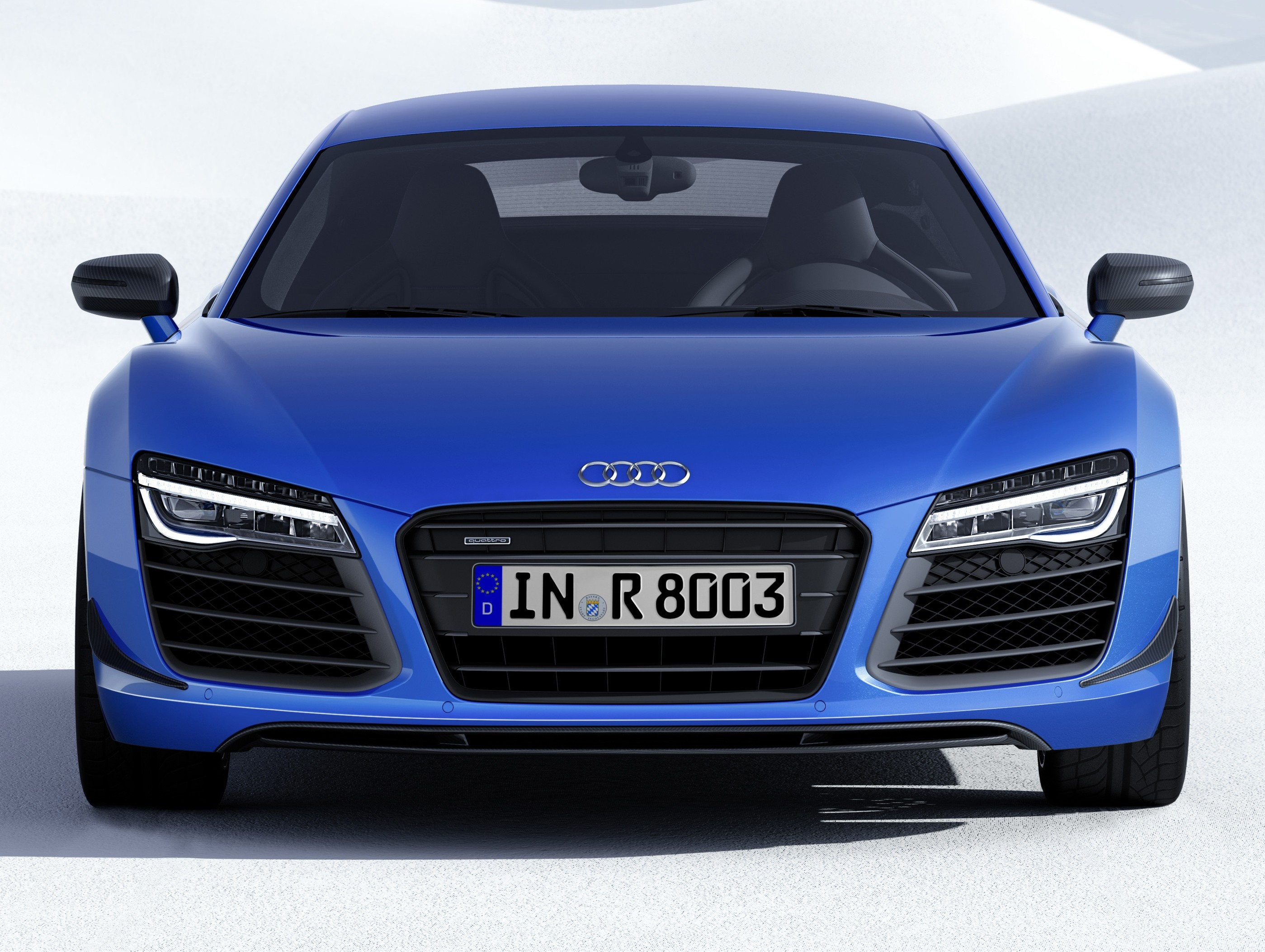 audi r8 lmx 570 ps beast to be first with laser lights. Black Bedroom Furniture Sets. Home Design Ideas
