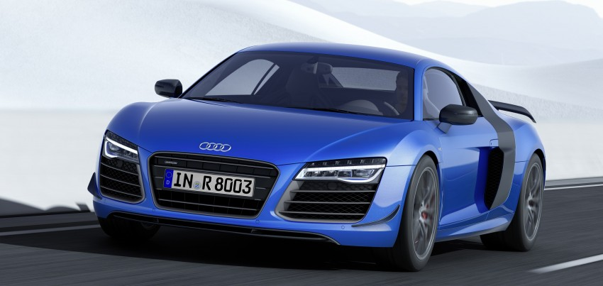 Audi R8 LMX: 570 PS beast to be first with laser lights Image #246860