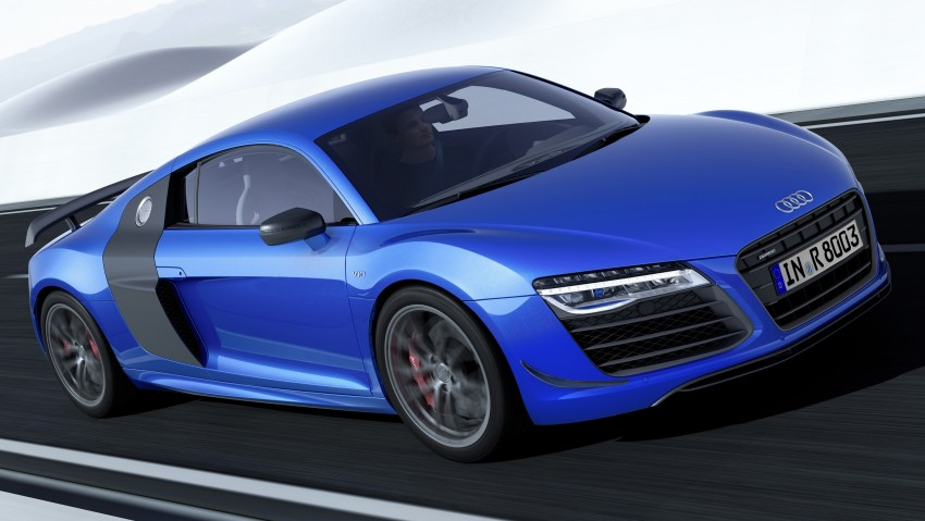 Audi R8 LMX: 570 PS beast to be first with laser lights Image #246866