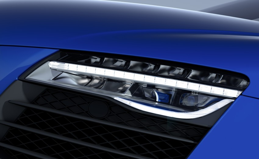Audi R8 LMX: 570 PS beast to be first with laser lights Image #246857