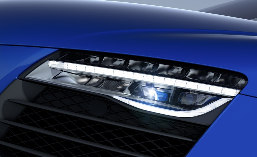 Audi R8 LMX: 570 PS beast to be first with laser lights Image #246858
