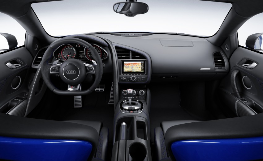 Audi R8 LMX: 570 PS beast to be first with laser lights Image #246851