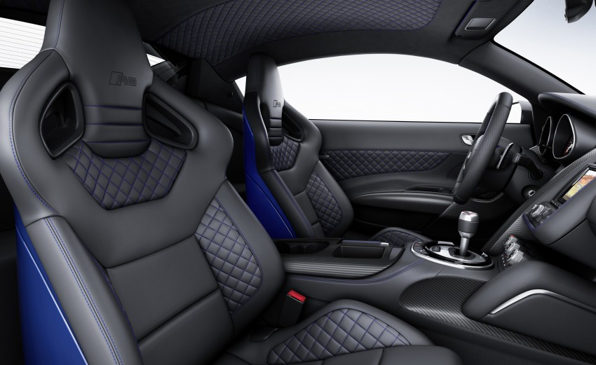 Audi R8 LMX: 570 PS beast to be first with laser lights Image #246853