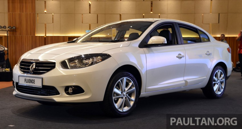 Renault Fluence 2.0 unveiled in Malaysia – RM115k Image #248965
