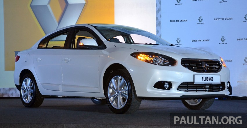 Renault Fluence 2.0 unveiled in Malaysia – RM115k Image #248988