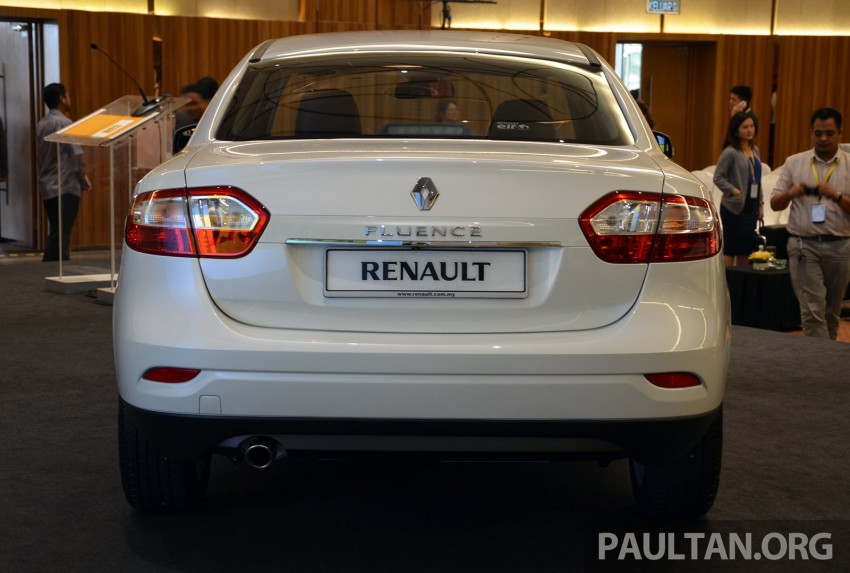Renault Fluence 2.0 unveiled in Malaysia – RM115k Image #248962