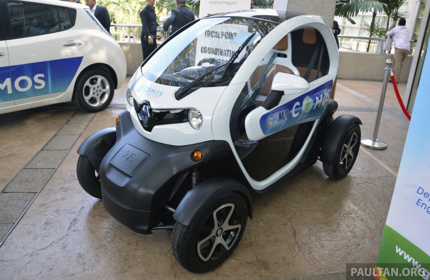 COMOS EV car-sharing programme to launch in August – rent a Twizy, Zoe or Leaf in KL, by the hour Image #246286