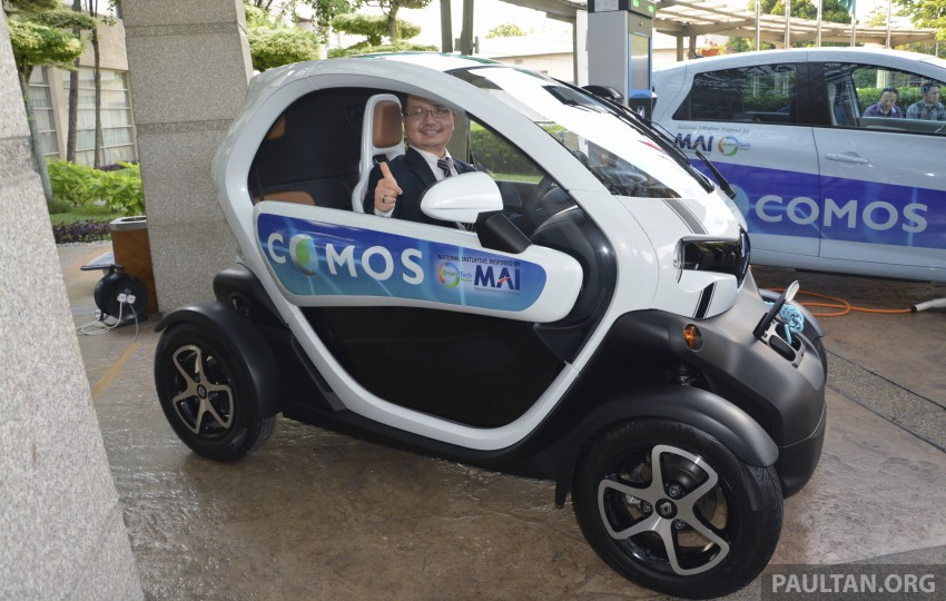 COMOS EV car-sharing programme to launch in August – rent a Twizy, Zoe or Leaf in KL, by the hour Image #246288