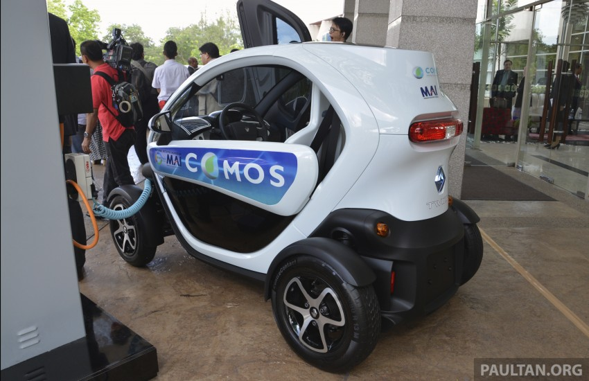 COMOS EV car-sharing programme to launch in August – rent a Twizy, Zoe or Leaf in KL, by the hour Image #246276