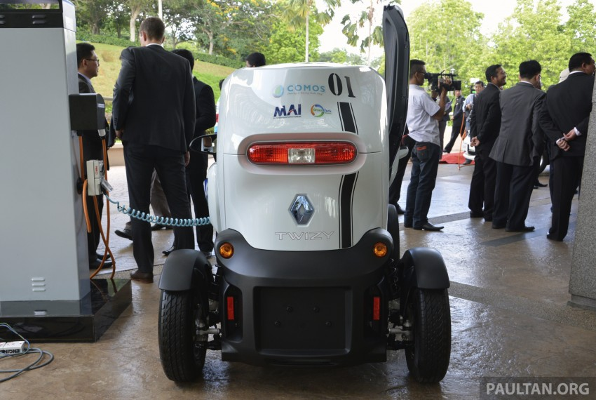 COMOS EV car-sharing programme to launch in August – rent a Twizy, Zoe or Leaf in KL, by the hour Image #246280