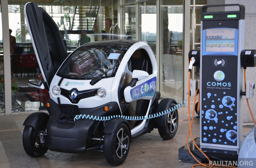 COMOS EV car-sharing programme to launch in August – rent a Twizy, Zoe or Leaf in KL, by the hour Image #246281