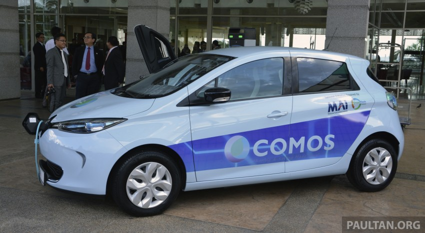 COMOS EV car-sharing programme to launch in August – rent a Twizy, Zoe or Leaf in KL, by the hour Image #246291