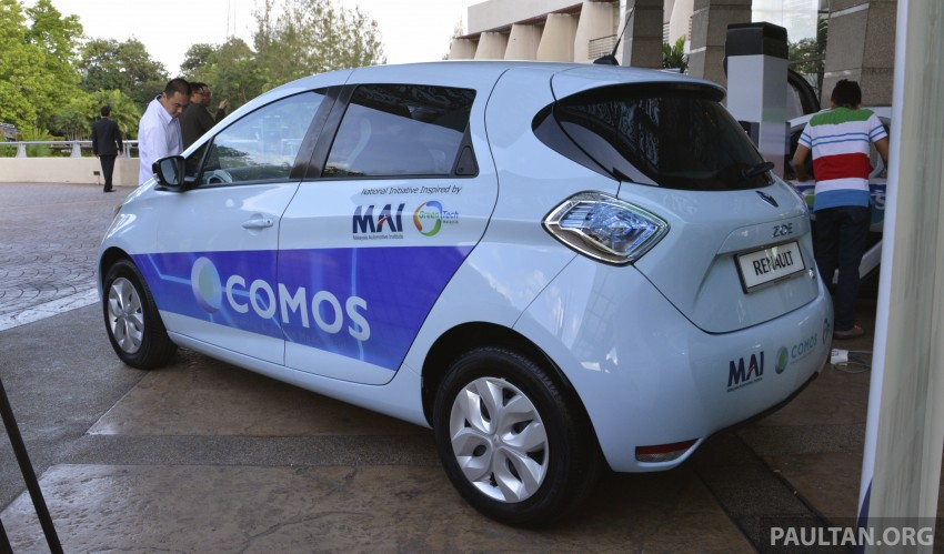 COMOS EV car-sharing programme to launch in August – rent a Twizy, Zoe or Leaf in KL, by the hour Image #246304
