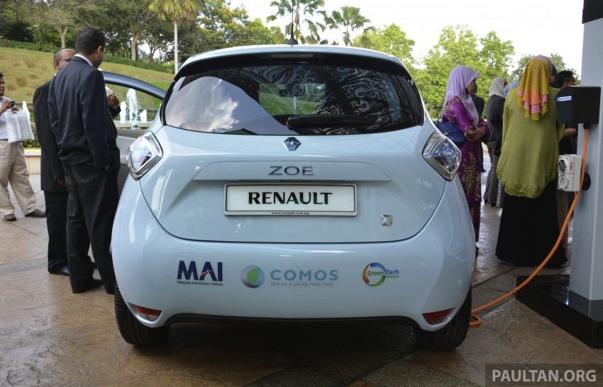 COMOS EV car-sharing programme to launch in August – rent a Twizy, Zoe or Leaf in KL, by the hour Image #246297