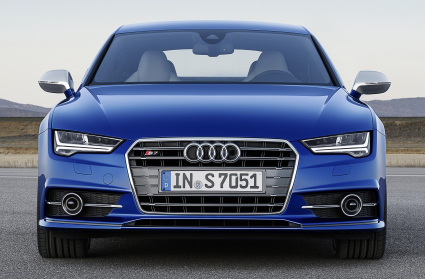 Audi A7 and S7 Sportback facelift – new 3.0 TDI ultra Image #249044