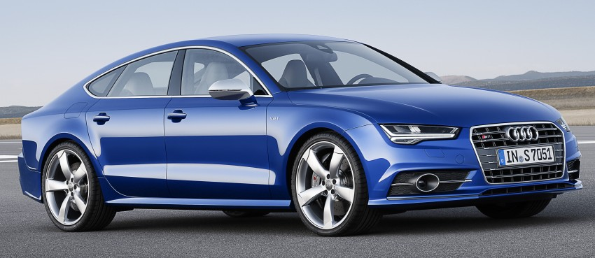 Audi A7 and S7 Sportback facelift – new 3.0 TDI ultra Image #249052