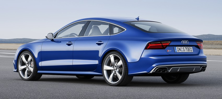 Audi A7 and S7 Sportback facelift – new 3.0 TDI ultra Image #249051