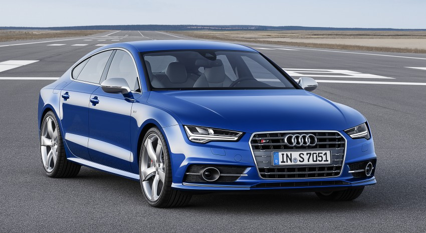 Audi A7 and S7 Sportback facelift – new 3.0 TDI ultra Image #249045