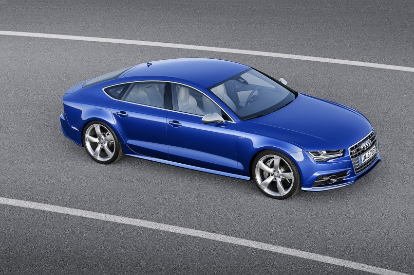 Audi A7 and S7 Sportback facelift – new 3.0 TDI ultra Image #249043