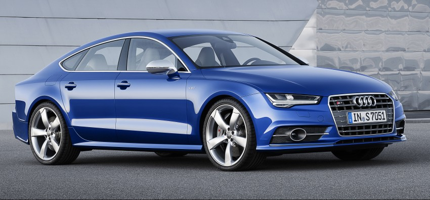 Audi A7 and S7 Sportback facelift – new 3.0 TDI ultra Image #249047