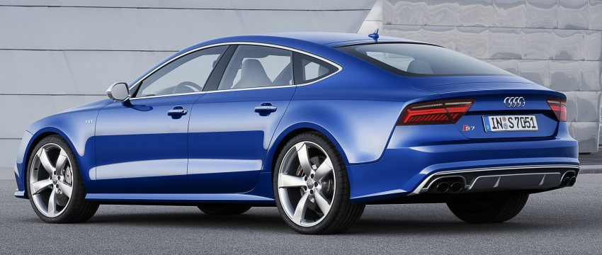 Audi A7 and S7 Sportback facelift – new 3.0 TDI ultra Image #249048