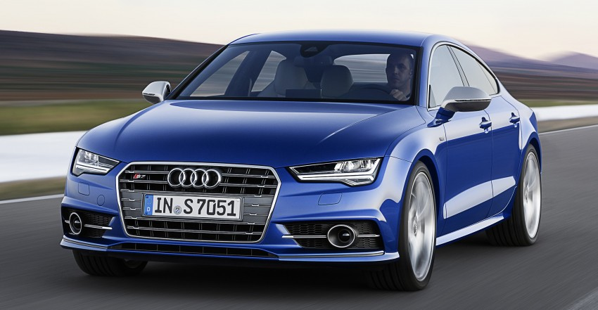 Audi A7 and S7 Sportback facelift – new 3.0 TDI ultra Image #249042