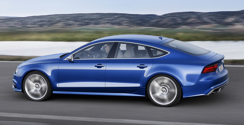 Audi A7 and S7 Sportback facelift – new 3.0 TDI ultra Image #249046