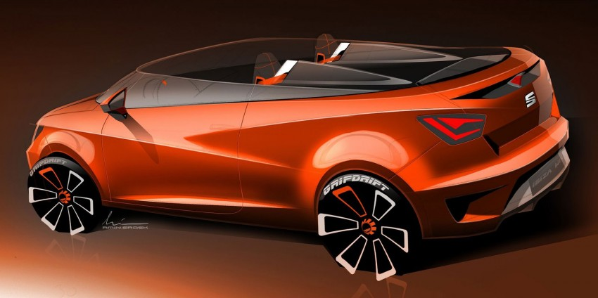 Seat Ibiza Cupster Concept – a topless experiment Image #248849