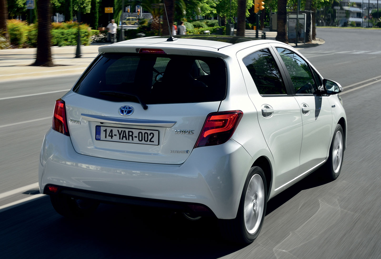 Gallery 2015 Toyota Yaris Hatchback For Europe Image 250068