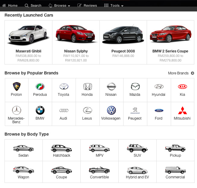 One Stop Site For Car Buying