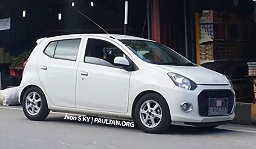 SPYSHOT: Daihatsu Ayla sighted at Cameron Highlands, Perodua Axia development under way Image #247614