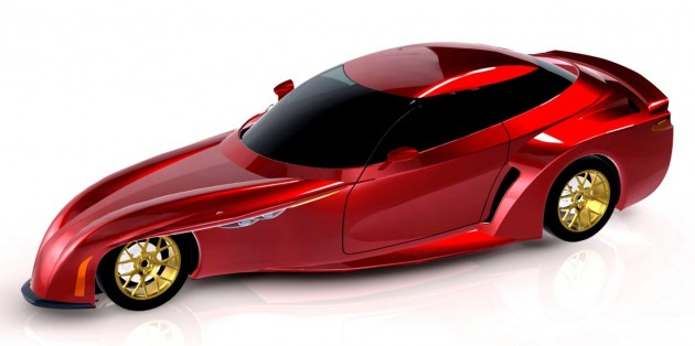 deltawing four-seater concept