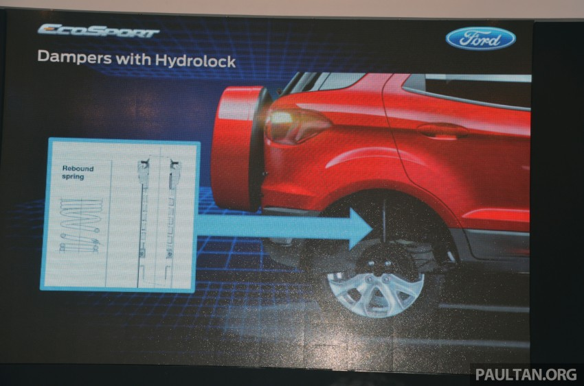 DRIVEN: Ford EcoSport 1.5 in Hua Hin, Thailand Image #245658