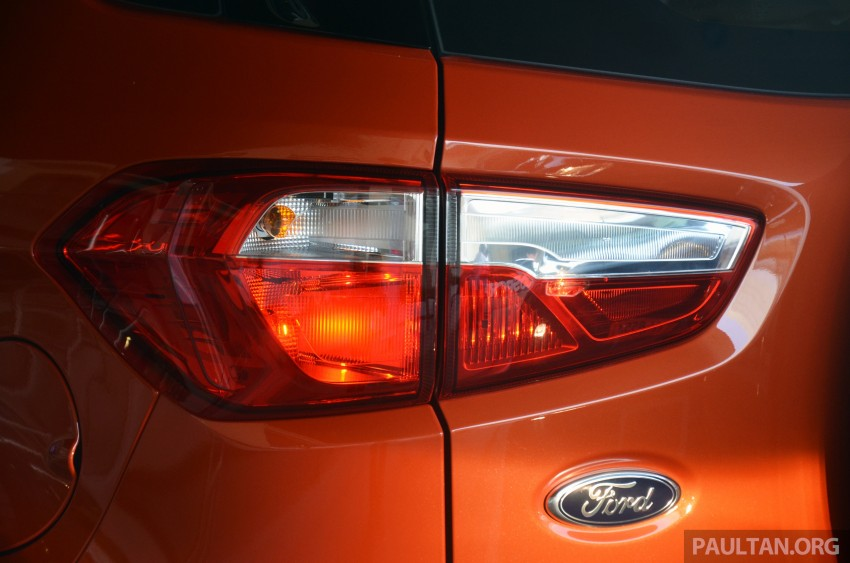 DRIVEN: Ford EcoSport 1.5 in Hua Hin, Thailand Image #245672