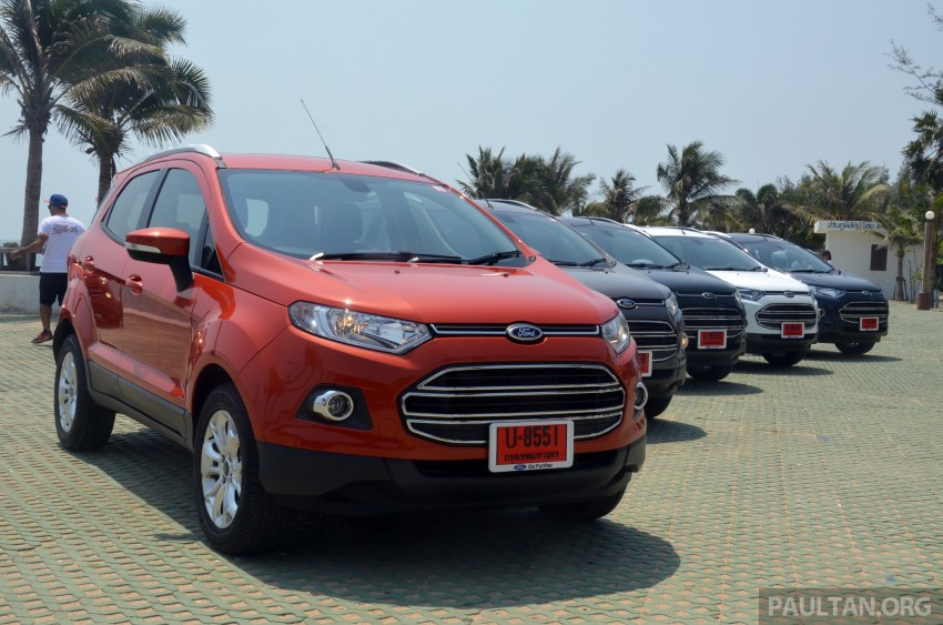 DRIVEN: Ford EcoSport 1.5 in Hua Hin, Thailand Image #245681
