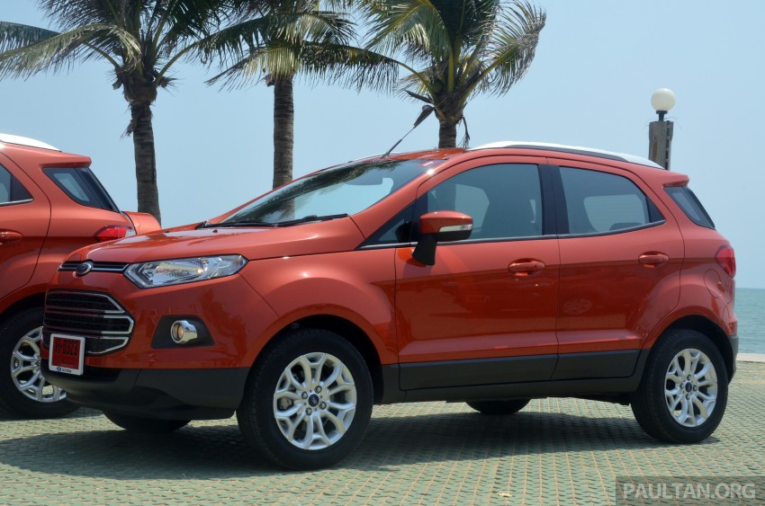 DRIVEN: Ford EcoSport 1.5 in Hua Hin, Thailand Image #245682