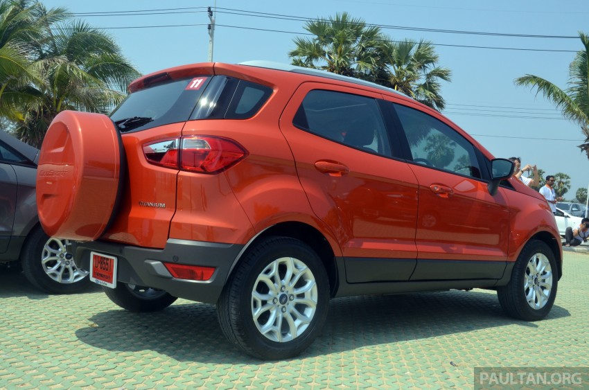 DRIVEN: Ford EcoSport 1.5 in Hua Hin, Thailand Image #245683