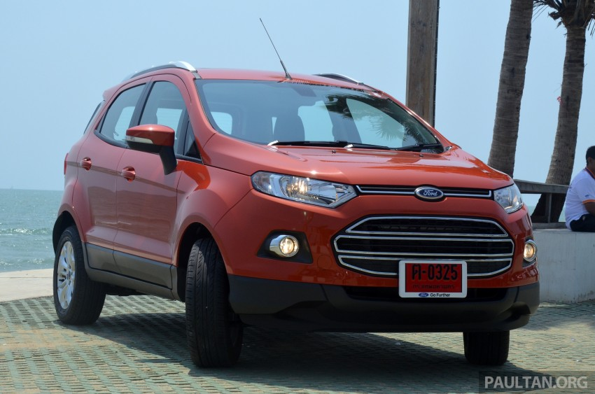 DRIVEN: Ford EcoSport 1.5 in Hua Hin, Thailand Image #245684