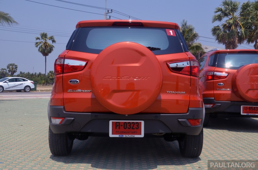 DRIVEN: Ford EcoSport 1.5 in Hua Hin, Thailand Image #245685